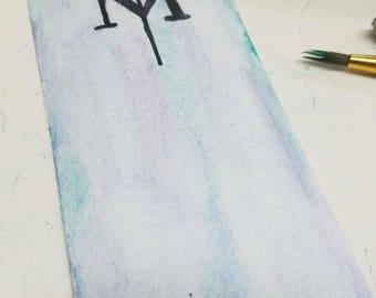Magnus Bane Bookmark - Mortal Instruments Inspired