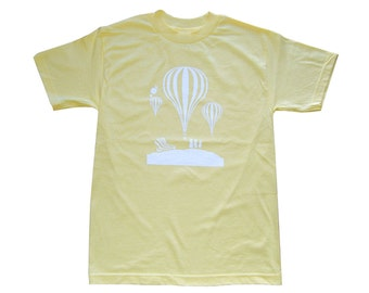 Balloons - Yellow  T-Shirt **SALE ITEM**