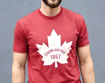 CANADA 1867 Strong and Free Shirt