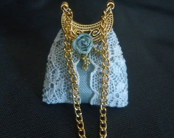 Gorgeous lace purse 1/12th scale