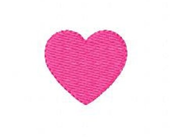 Embroidery Design, Heart Mini Valentine  // Joyful Stitches