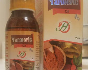 Turmeric* Pure Vegan Oil - 2 fl. oz.