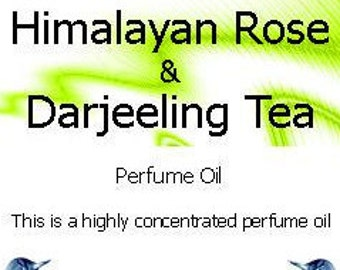 Himalayan Rose and Darjeeling Tea  Perfume Oil
