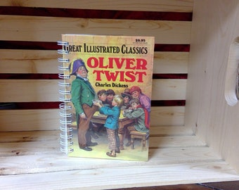 Oliver Twist Notebook
