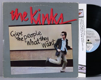 The Kinks - Give The People What They Want - Vintage Vinyl Record Album 1981