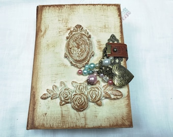 Shabby vintage junk journal