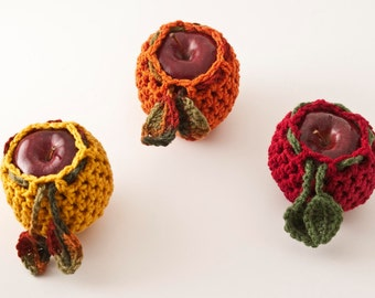 Apple Cozy Trio, Fall - US Shipping Included