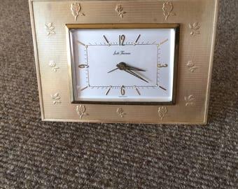 West German made Seth Thomas bedside or desk alarm clock.
