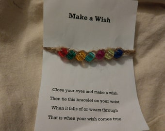 Colourful Wish Bracelet