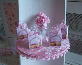 Miniature spirit Ladurée Dollhouse 1: 12 tote bag
