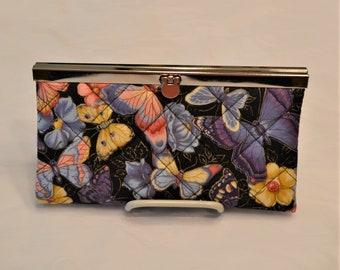 Butterflies  Clutch Wallet
