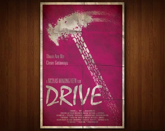 Drive Poster (Multiple Sizes)
