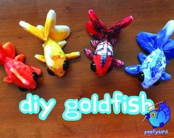 DIY Goldfish ePattern and Tutorial