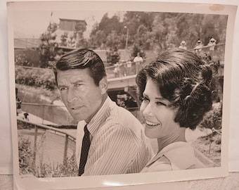 Photo Release of Efrem Zimbalist Jr and Diana Baker