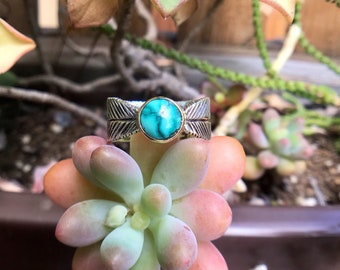 Cloud Mountain Turquoise Ring