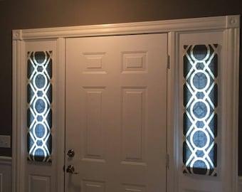 Charmant Greystone Door Panels / Foyer Rod Pocket Front Door, Entry Door, French  Doors U0026 Sidelight Curtain Door Panels