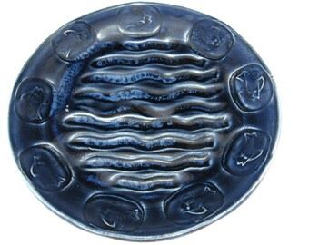 Pottery Soap Dish / Sponge Holder/ Spoon Rest/ Brillo Pad holder/Kitchen Scrubby Holder