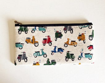 Flat  zipper pouches (scooter)