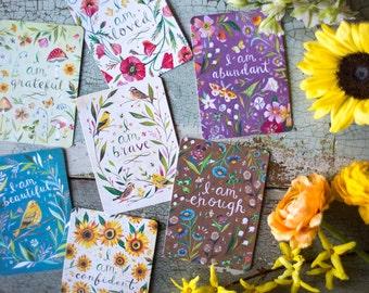 Affirmation Cards | Mini Mottos | Inspirational Prints