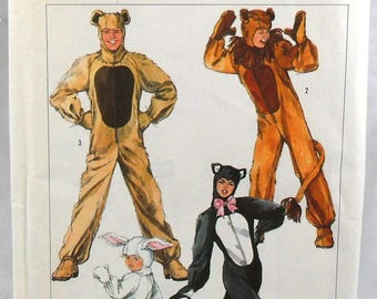 Simplicity 7648 animal costumes, chest or bust 40-42