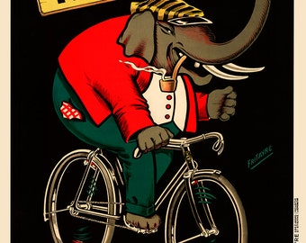 Cycles Robust Bicycle Poster (#0504) 6 sizes