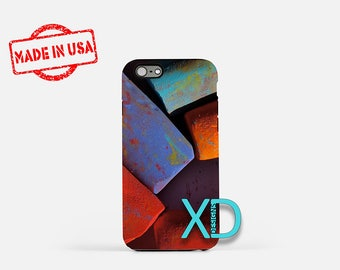 Sidewalk Chalk iPhone Case, Chalk iPhone Case, Chalk iPhone 8 Case, iPhone 6s Case, iPhone 7 Case, Phone Case, iPhone X Case, SE Case