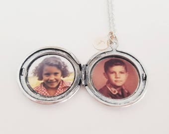 Locket Photo Upgrade - Add a photo to your locket - Remembrance Locket - Add a picture to a locket - Photo locket - Picture Locket Necklace