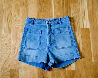Vintage 70s high waist jeans shorts
