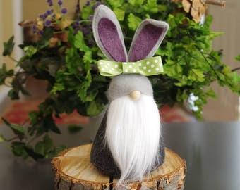 EASTER Bunny Gnomes, nains de jardin scandinaves, Get Well Soon, paniers de Pâques, cadeau pour elle, nordique Gnomes, lapins, nains de jardin nordiques, cadeaux