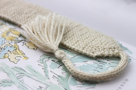 Knitting Pattern 3 Knitted Bookmarks Knit Knitted White Lace
