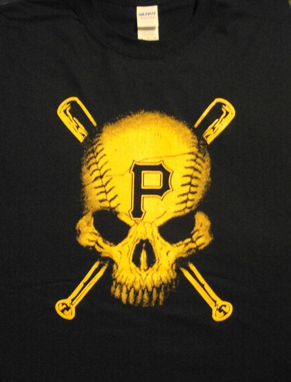 Pittsburgh Pirates Baseball T Shirt Size Adult S 6xl
