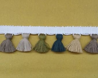 Multi coloured Tassel Fringe