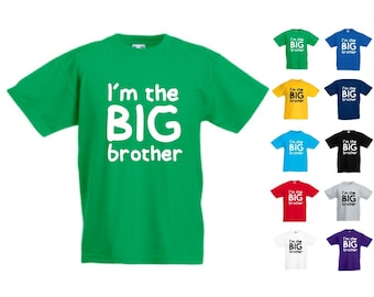 I'm The Big Brother - Kids/Childrens Unisex Tshirt - Great Gift/Present