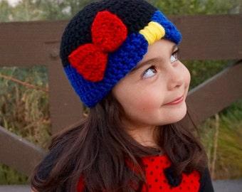 Princess Snow White beanie - Snow White and the Seven Dwarfs Disney character hat