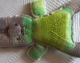 the toy green knit