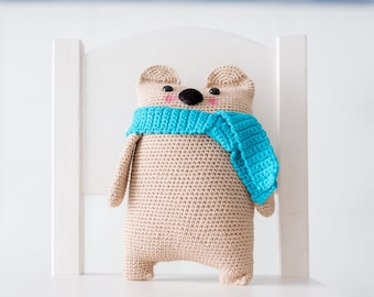 Amigurumi PATTERN - Teddy BEAR (oso) #3 - CROCHET