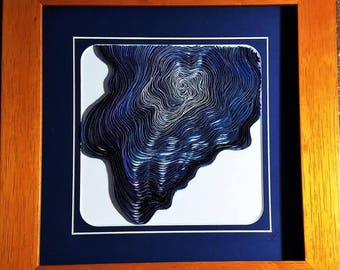 blue geode ~ by Willowbrook Creations