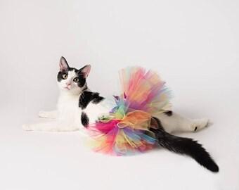 Pet Tutu, Cat Tutu, Cat Tutu Costume, Tutu for Dogs, Cat Clothes, Pet Clothing, Cat Costume, Cat Gifts for Cat Lovers, Cat Clothing,Pet Gift
