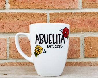 Abuelita Christmas Gift for Grandma Personalized Gift for Her Grandmother from Granddaughter