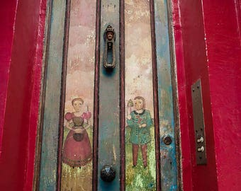 London photography, portobello road print, doors of London, London door, notting hill, patina door, 4x6, 5x7, wall art, metal print