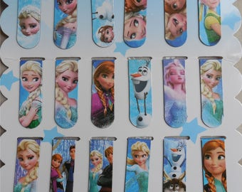 Frozen magnetic bookmark