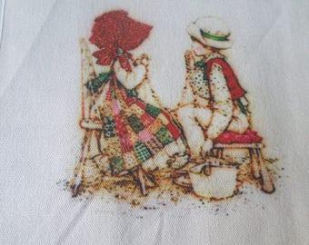 x 1 coupon fabric/applique/tile-15 x 15 cm pattern child