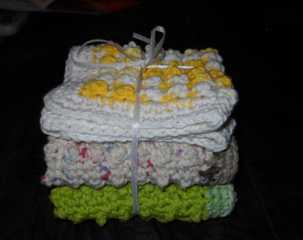 DC-004 Crochet Dishcloths