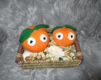 Pumpkin Hand Knitting Pattern
