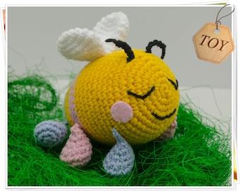 Crochet Bee, Amigurumi Bee, Crochet Bee Toy, Stuffed Bee, Plush Bee, Bumble Bee Toy, Bee Doll, Honey Bee, Bee Baby Shower, Bee Softie