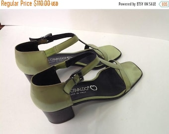 Martini Osvaldo Vintage women shoes. Sz 8.5 B