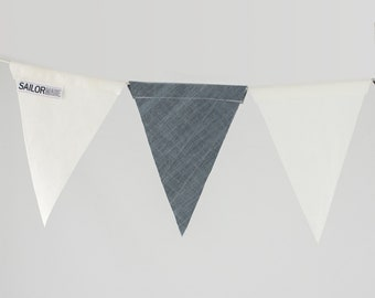 Recycled Sail Cloth Bunting Flags