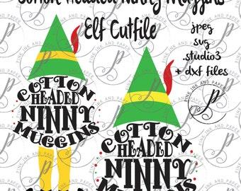 Cotton Headed Ninny Muggins Cutfile & Clipart - Digital Download -