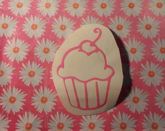 Cupcake Window Decal/Bakery Window Decal/Cup Cake Decal/Cute Cupcake/ Bakery Decal/ Cupcake Window Decals/ Cupcake Bakery Decals/  Bakery