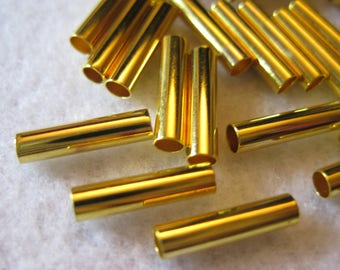 Tube Gold 3mm X 11 mm